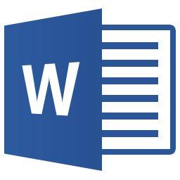 Логотип программы Word, Microsoft Word 2013 logo