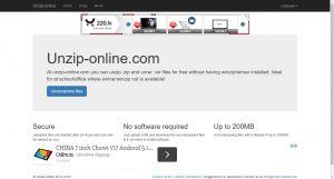 Сервис unzip-online.com