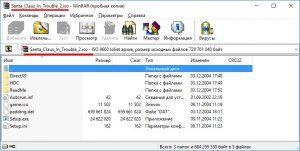 Смотрим содержимое ISO в WinRAR
